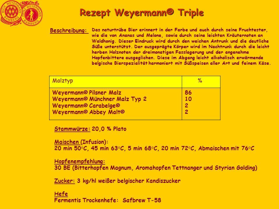 Rezept Weyermann® Triple