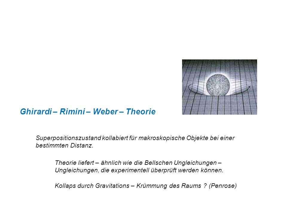 Ghirardi – Rimini – Weber – Theorie