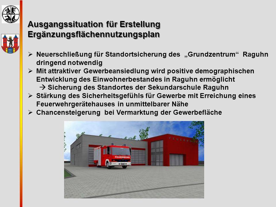 Ausgangssituation für Erstellung Ergänzungsflächennutzungsplan