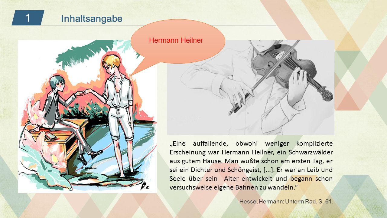 1 Inhaltsangabe Hermann Heilner