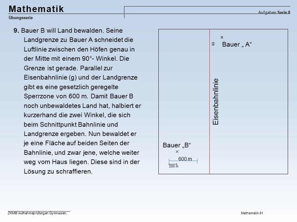 Mathematik Eisenbahnlinie