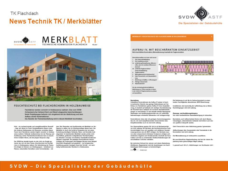 News Technik TK / Merkblätter
