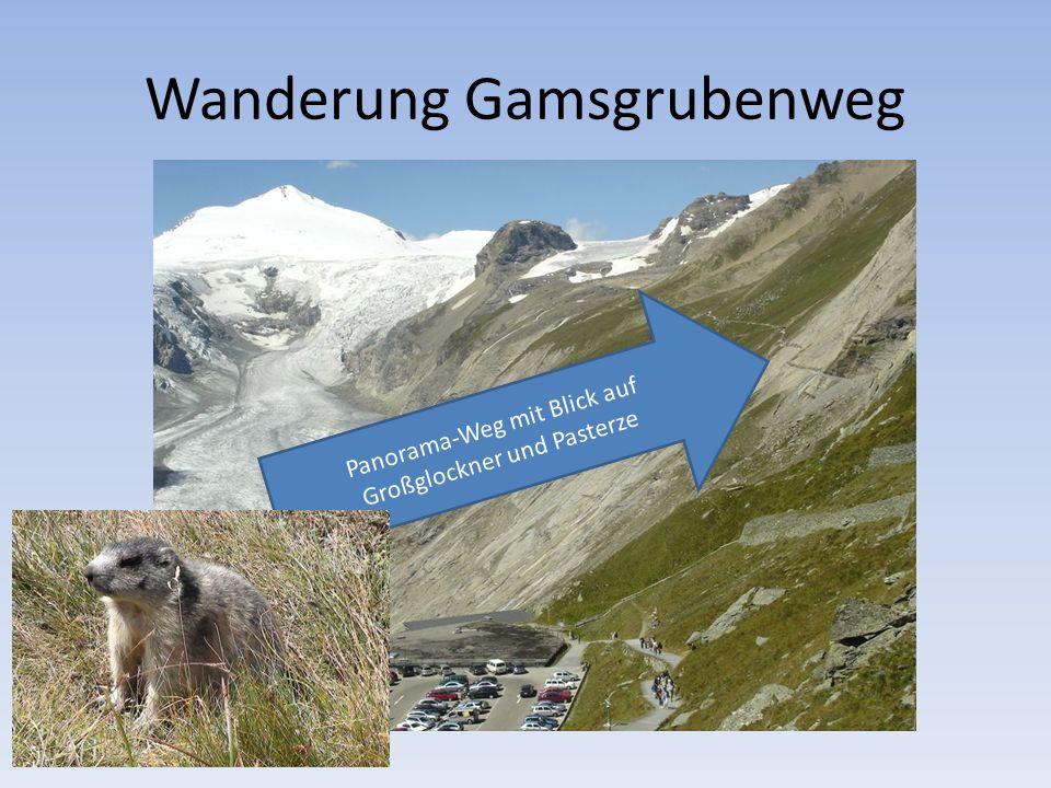 Wanderung Gamsgrubenweg