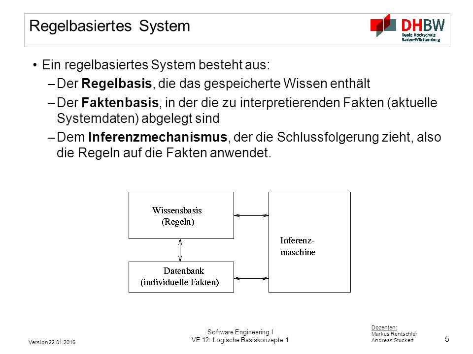 Regelbasiertes System