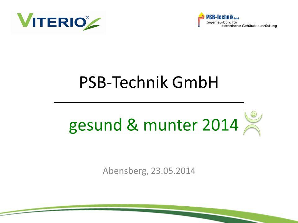 PSB-Technik GmbH gesund & munter 2014 Abensberg, 23.05.2014