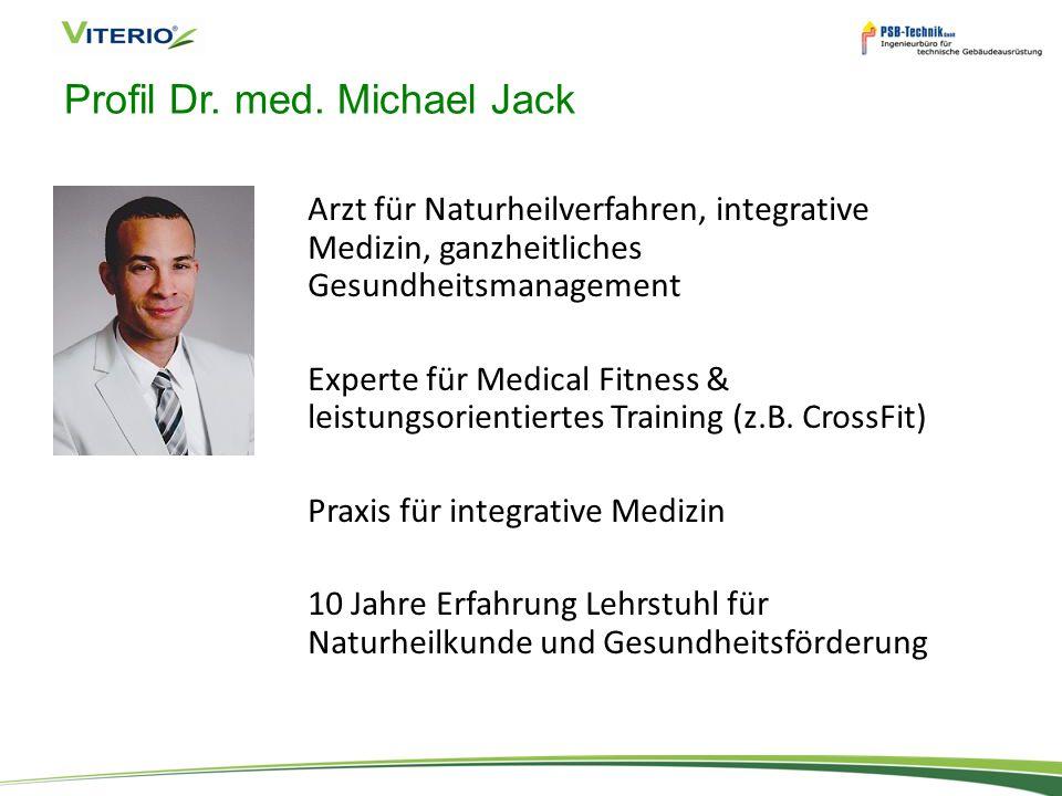 Profil Dr. med. Michael Jack