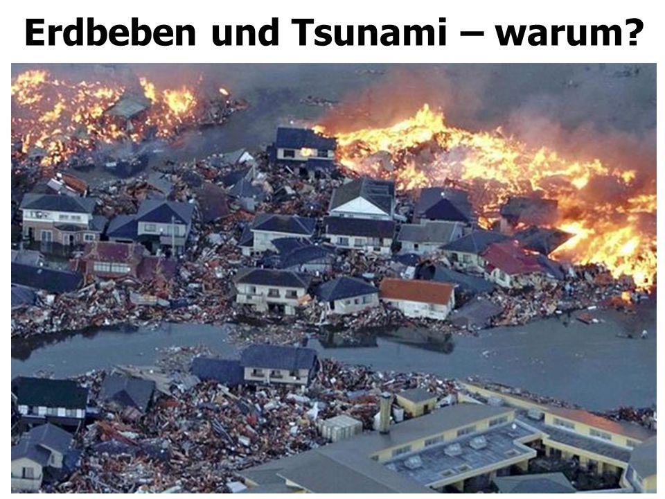 Erdbeben und Tsunami – warum