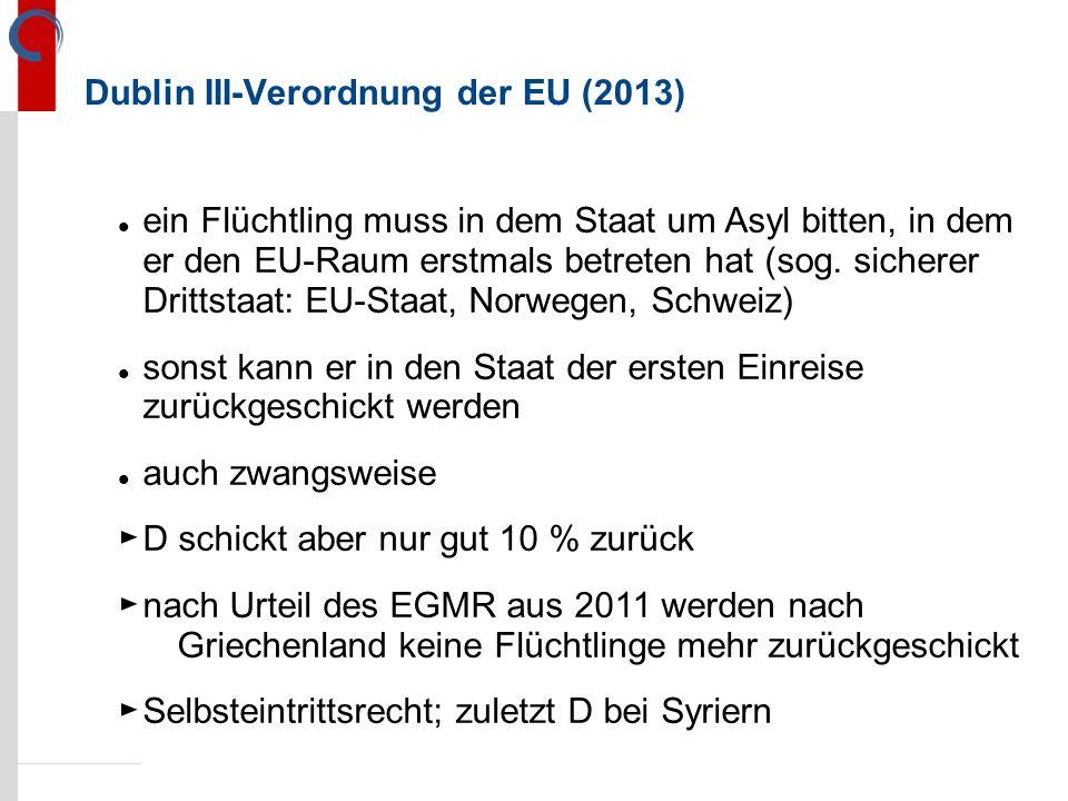 Dublin III-Verordnung der EU (2013)