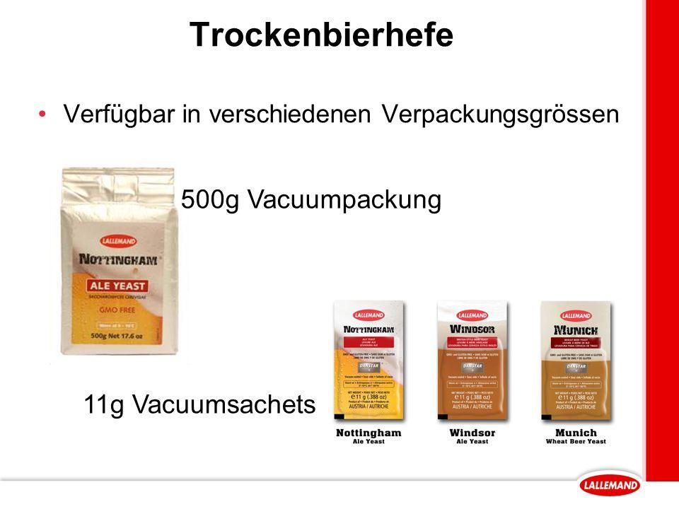 Trockenbierhefe 500g Vacuumpackung 11g Vacuumsachets