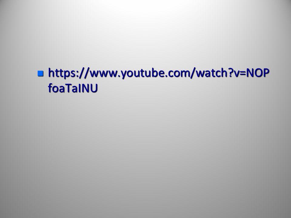 https://www.youtube.com/watch v=NOPfoaTaINU