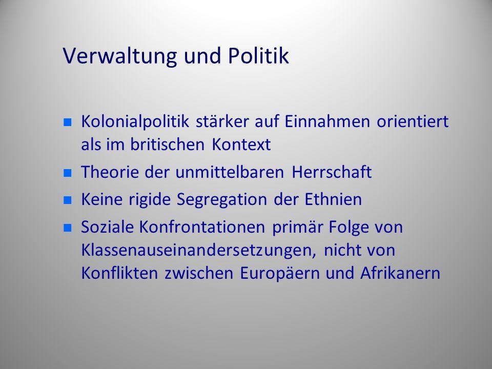 Verwaltung und Politik