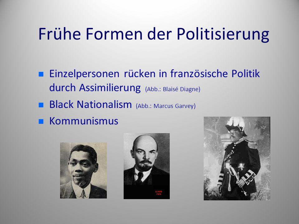 Frühe Formen der Politisierung
