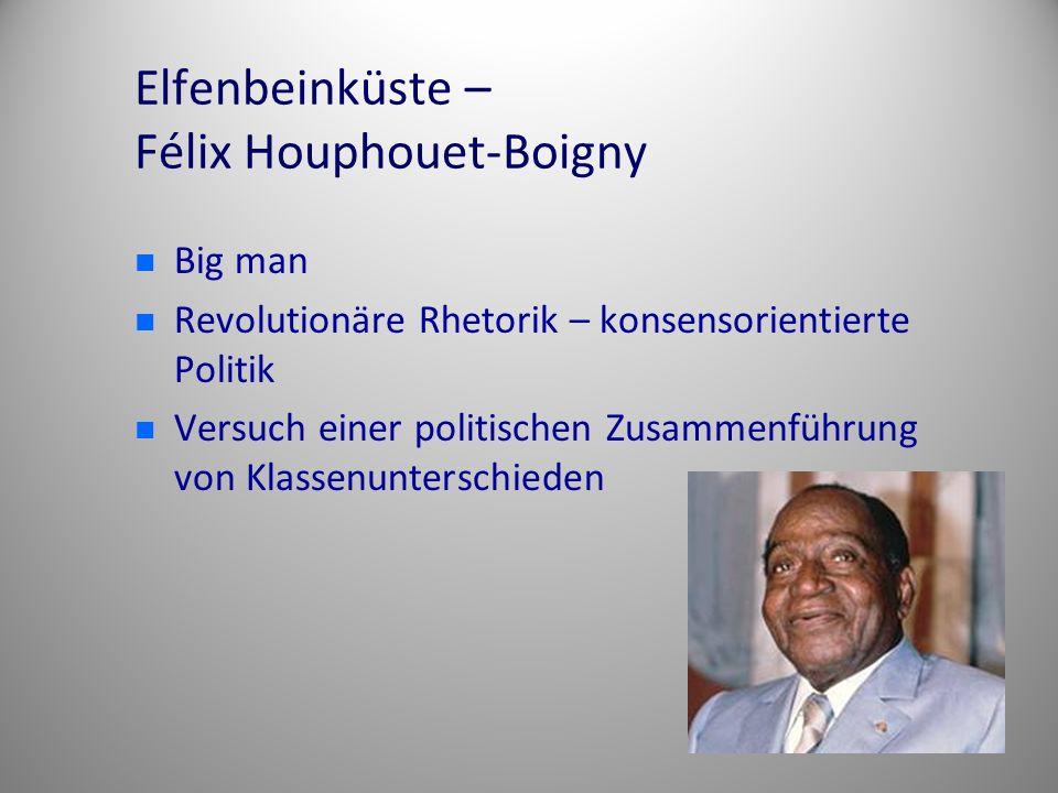 Elfenbeinküste – Félix Houphouet-Boigny