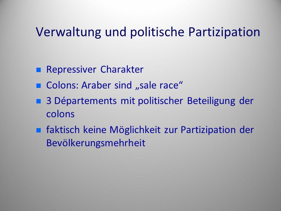 Verwaltung und politische Partizipation