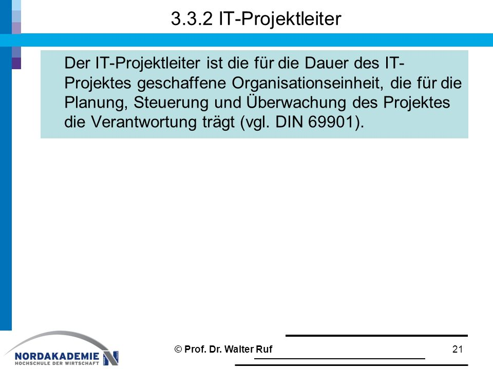 3.3.2 IT-Projektleiter