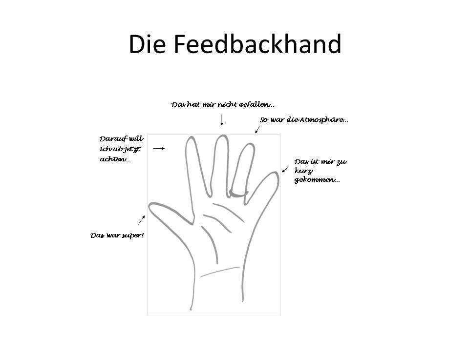 Die Feedbackhand