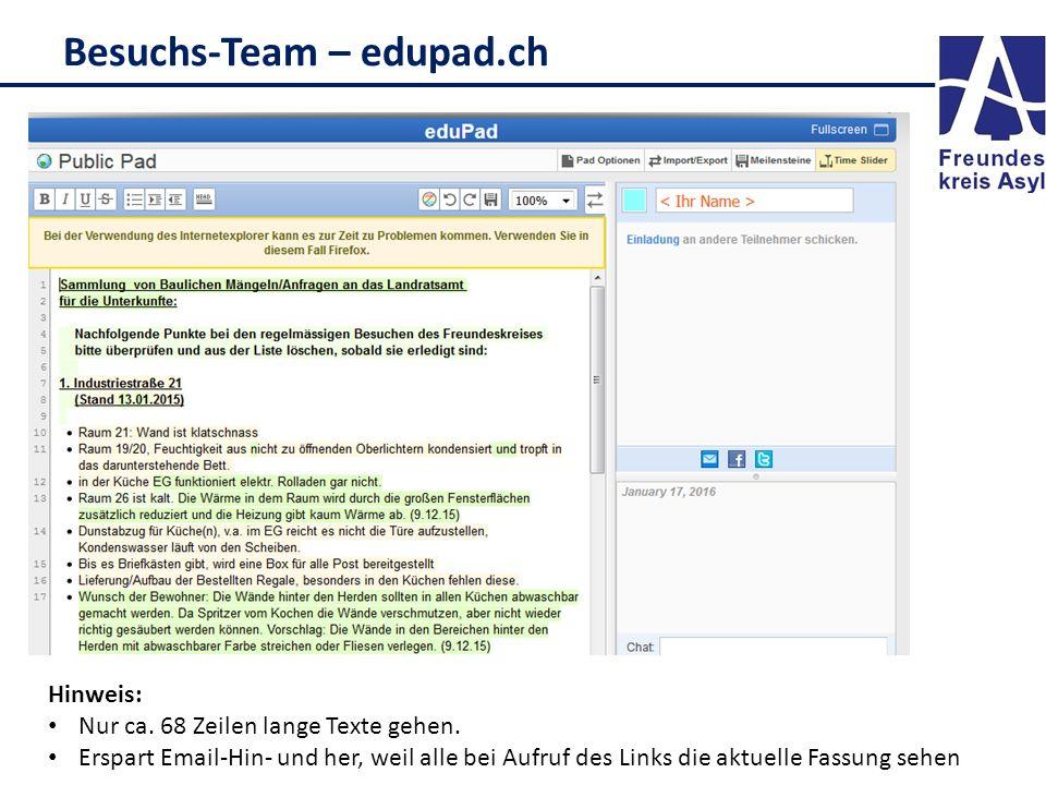 Besuchs-Team – edupad.ch
