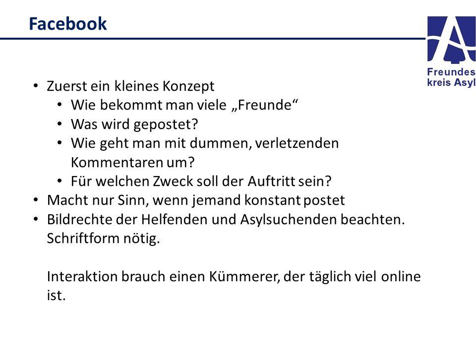 """Facebook Zuerst ein kleines Konzept Wie bekommt man viele """"Freunde"""