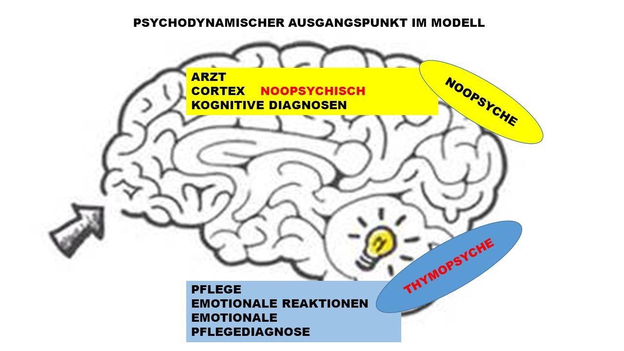 PSYCHODYNAMISCHER AUSGANGSPUNKT IM MODELL