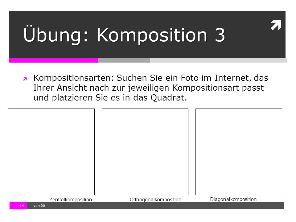 Übung: Komposition 3