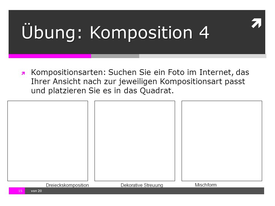 Übung: Komposition 4