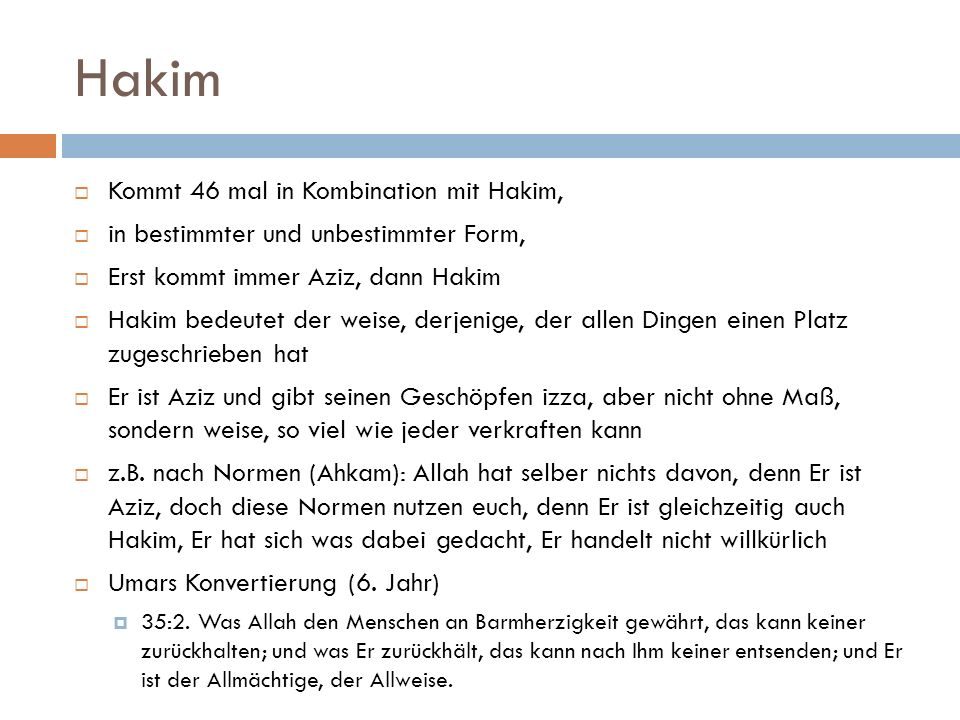 Hakim Kommt 46 mal in Kombination mit Hakim,