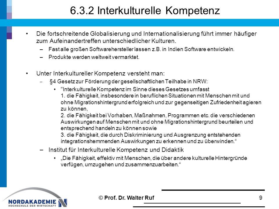 6.3.2 Interkulturelle Kompetenz