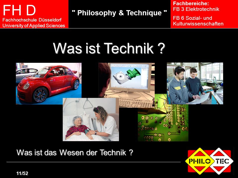 Was ist Technik Was ist das Wesen der Technik