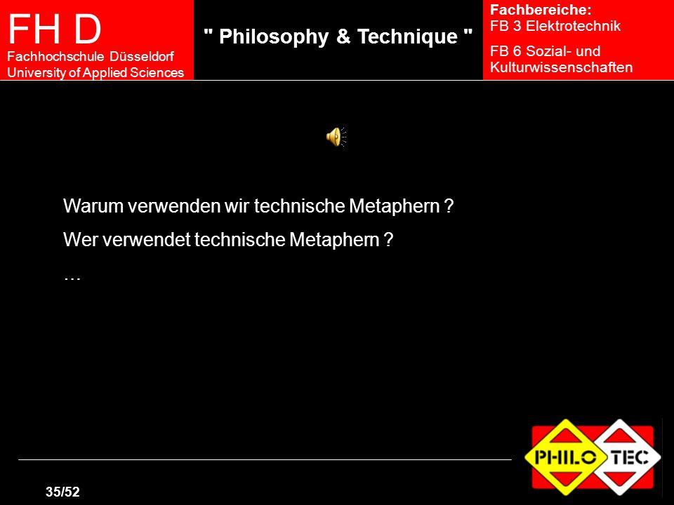 Warum verwenden wir technische Metaphern
