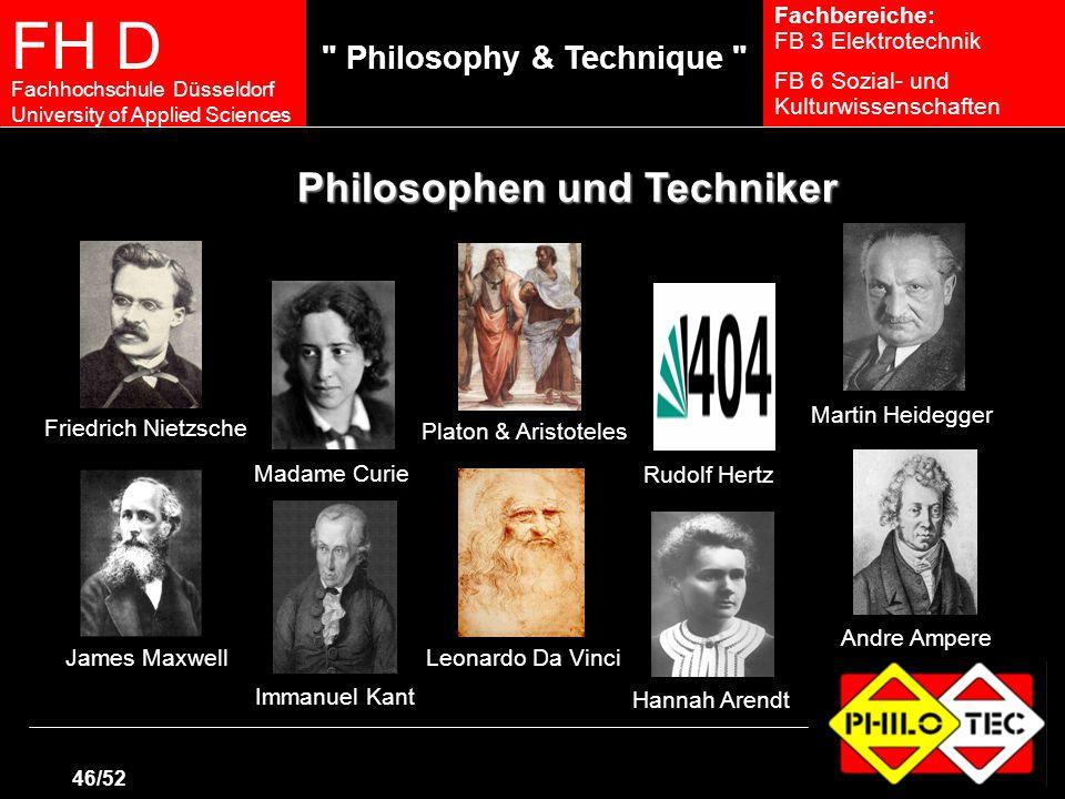 Philosophen und Techniker