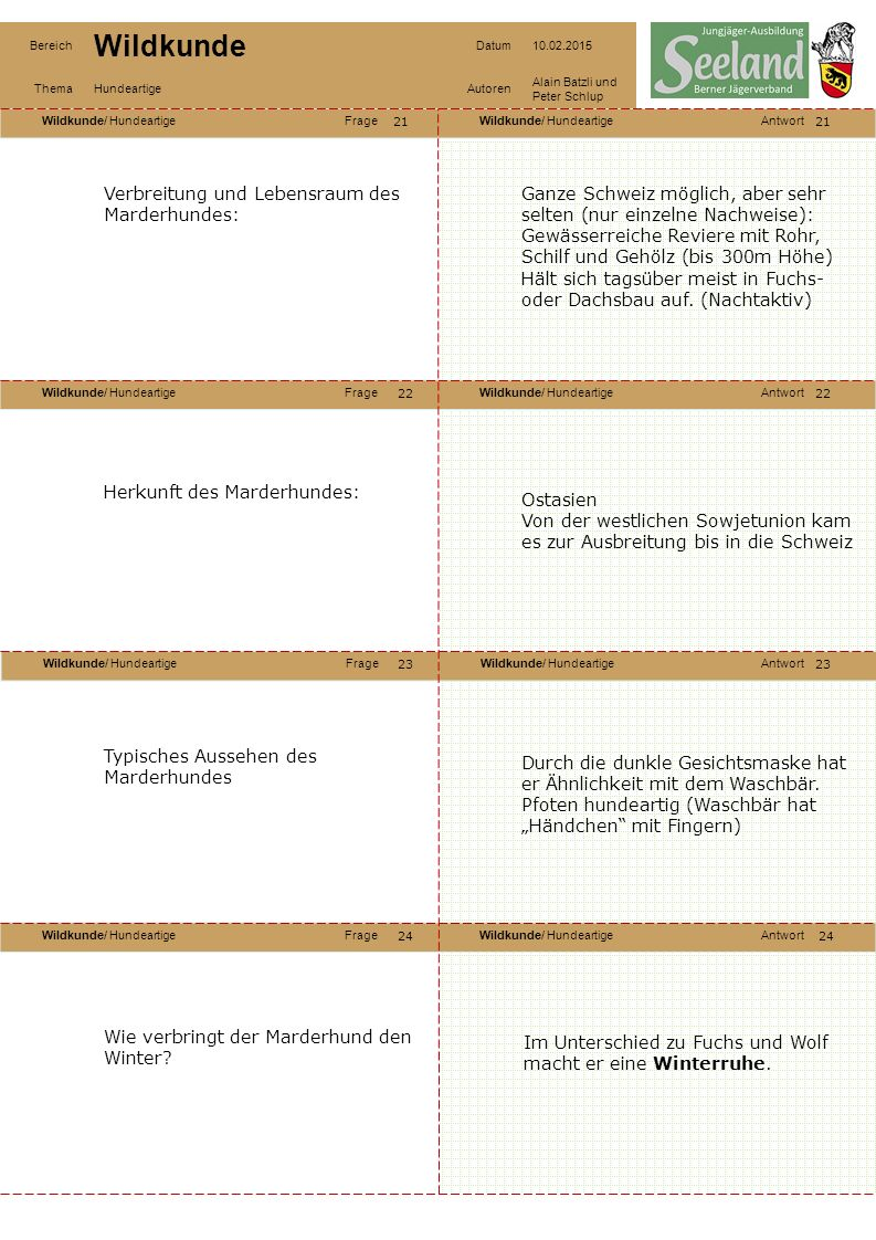 Verbreitung und Lebensraum des Marderhundes: