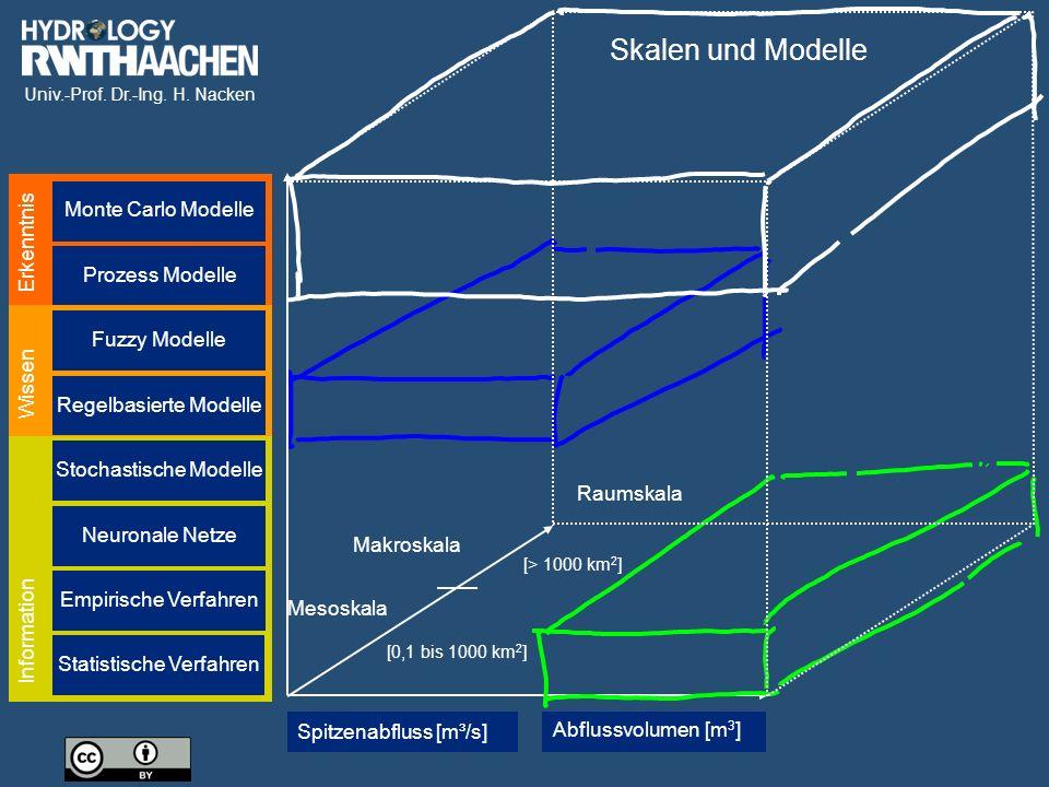 Skalen und Modelle Monte Carlo Modelle Erkenntnis Prozess Modelle