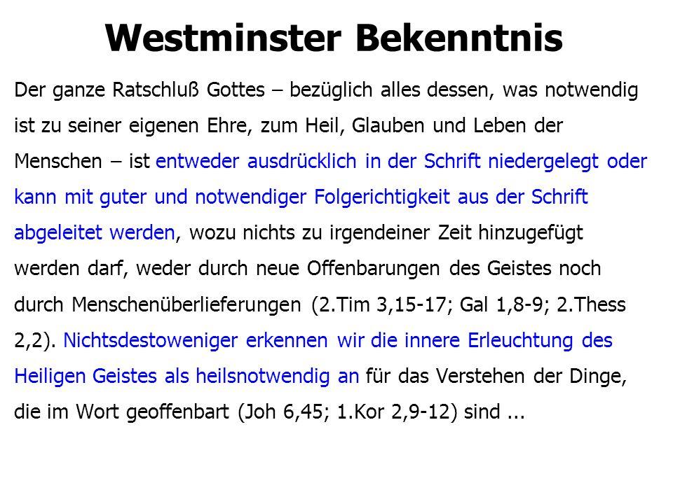 Westminster Bekenntnis
