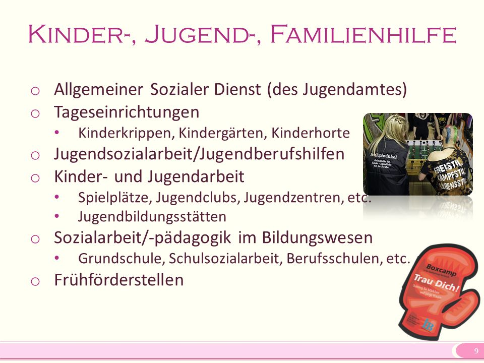 Kinder-, Jugend-, Familienhilfe
