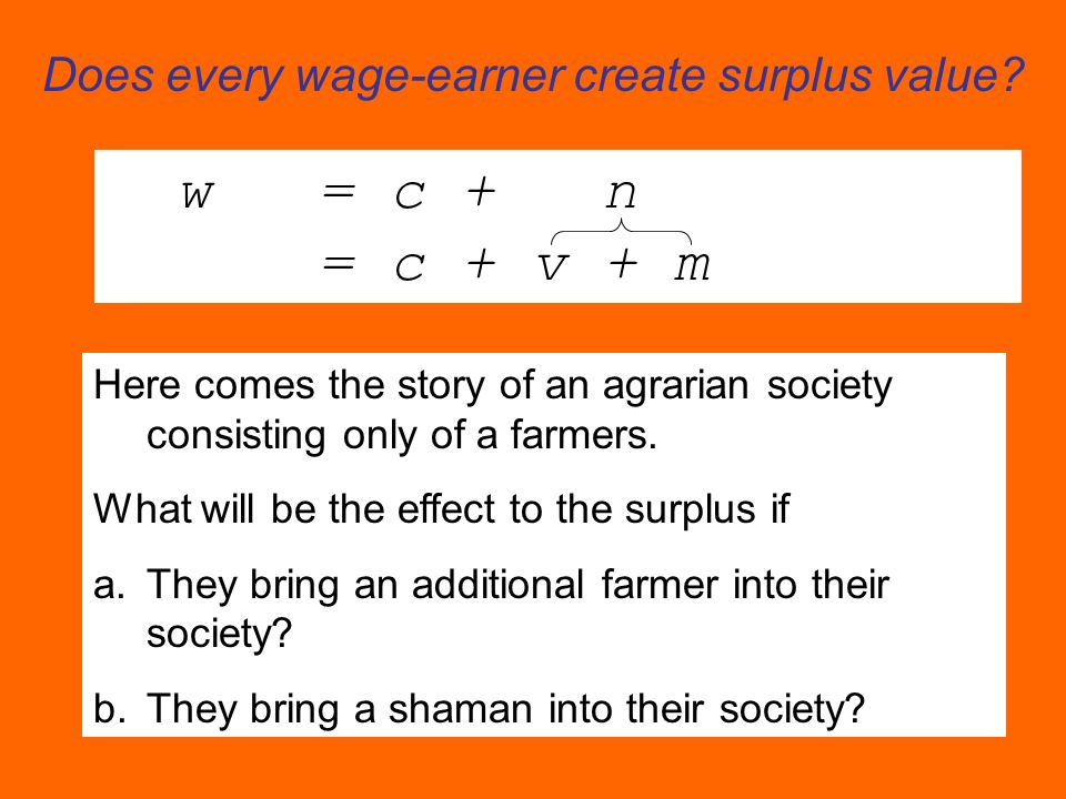 Does every wage-earner create surplus value