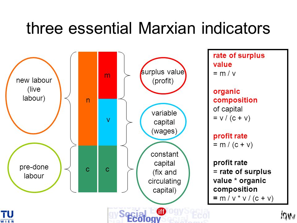 three essential Marxian indicators