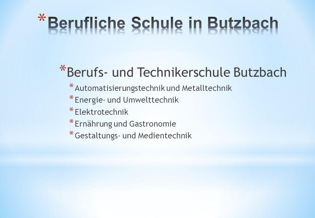 Berufliche Schule in Butzbach