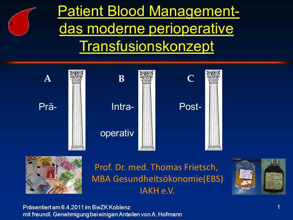 Patient Blood Management-