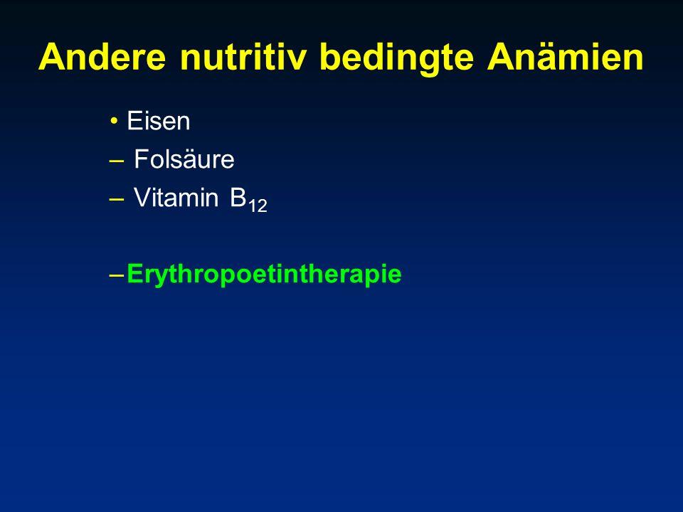 Andere nutritiv bedingte Anämien