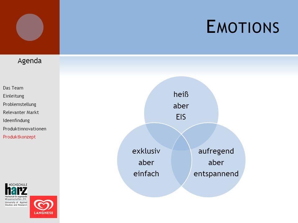 Emotions Agenda Das Team Einleitung Problemstellung Relevanter Markt