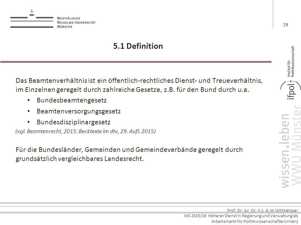 5.1 Definition
