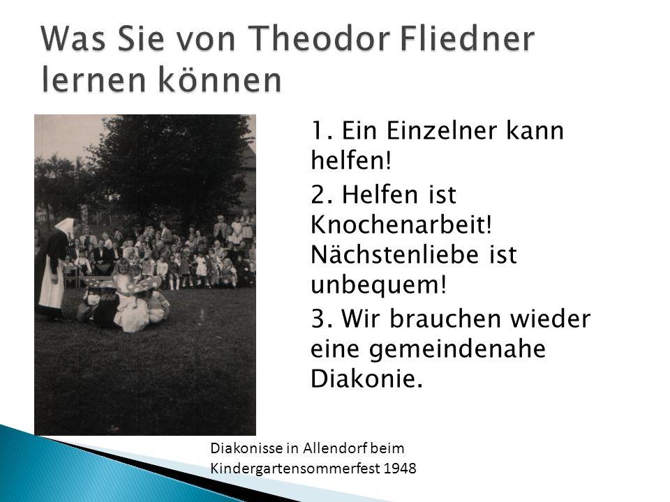 Was Sie von Theodor Fliedner lernen können