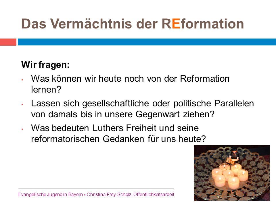 Das Vermächtnis der REformation