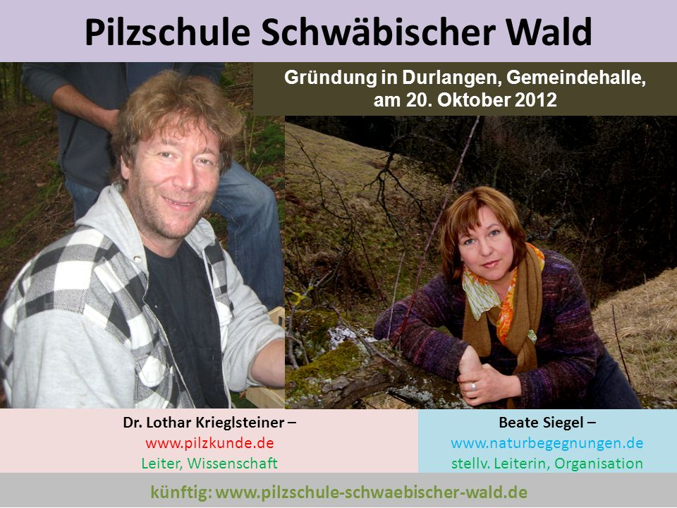 Pilzschule Schwäbischer Wald