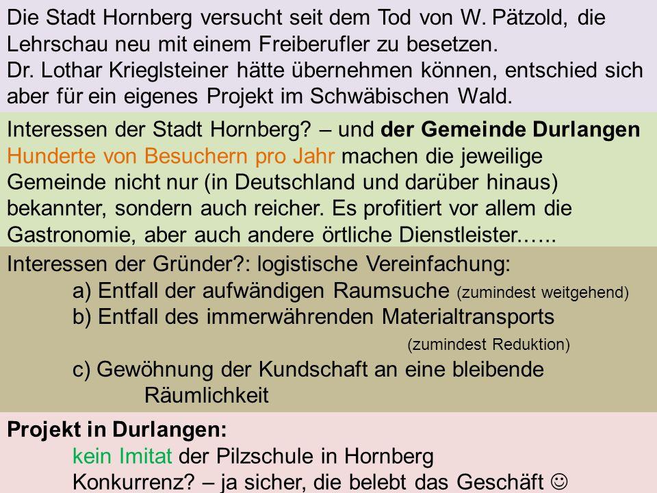 Die Stadt Hornberg versucht seit dem Tod von W