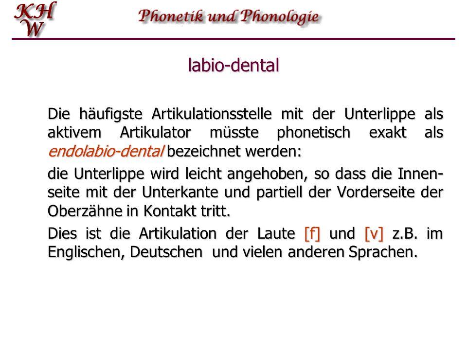 labio-dental