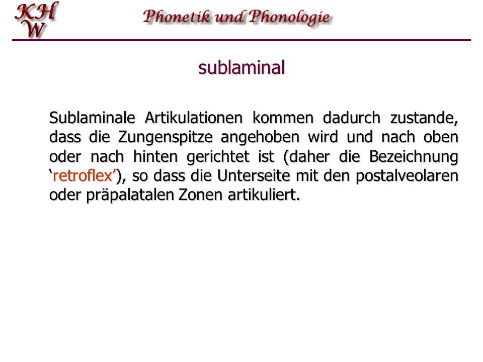 sublaminal