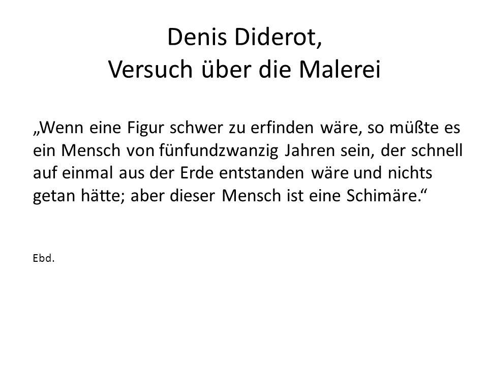 Denis Diderot, Versuch über die Malerei