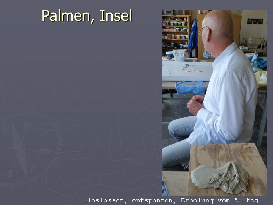 Palmen, Insel …loslassen, entspannen, Erholung vom Alltag