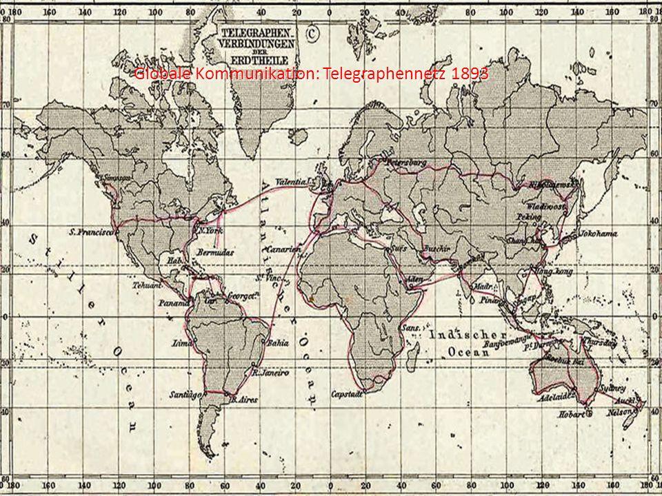 Globale Kommunikation: Telegraphennetz 1893